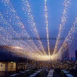 De warme Witte LEIDENE van Kerstmis Lichten van de Ijskegel voor OpenluchtDecoratie