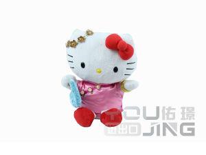 La moda Hello Kitty vestir Muñeca de peluche juguete de peluche