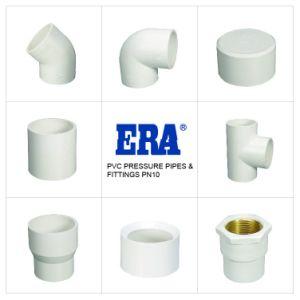 De plástico/PVC NORMA DIN Pn10 Conexão de pressão reduzindo o ETE com certificados pela DVGW