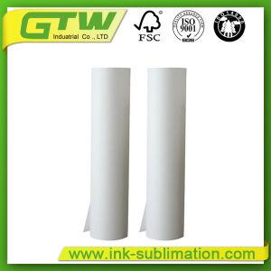 Промышленная технология термосублимации красителей бумаги 90GSM для передачи печать