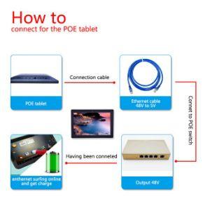 10.1-дюймовый настенный монтаж IPS 1280*800 планшетный ПК с поддержкой Poe с WiFi для использования на заводе