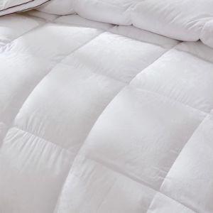 Luxury 400TC 100% algodão egípcio de plumas de ganso branco