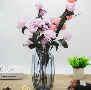 Verre de qualité supérieure à la maison et bureau de vases de décoration pour vendre