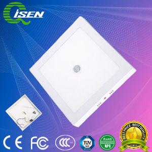 24W Luz do painel do detector de movimento por infravermelhos com 300mm para iluminação interior