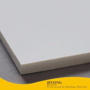 De zuivere Tegel van de Vloer van het Porselein van de Kleur Super Witte Glanzende Opgepoetste