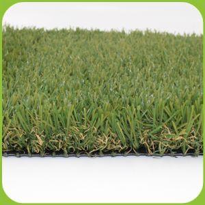 Het openlucht Gazon dat van de Tuin het Kunstmatige Synthetische Gras van de Tuin van het Gras modelleert