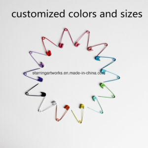 En espiral de colores pintados común el pasador de seguridad para el hogar