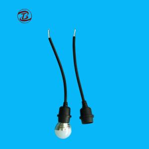 Douille de lampe étanche E27 Voyant témoin de la courroie avec câble en caoutchouc