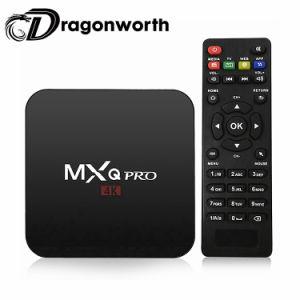 Mxq geben PROAmlogic S905W 1GB 8GB des Fernsehapparat-Kastenandroid-7.0 volle HD Alls Kanäle 2018 und Film Vierradantriebwagen-des Kern-4K 1080P Uhr frei