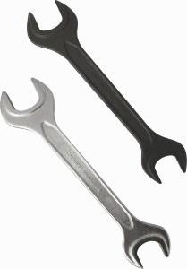 Chiave di estremità aperta del doppio del acciaio al carbonio dello strumento del hardware
