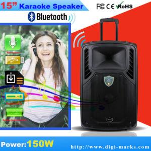 10 Zoll-Berufsbatterie-Karaoke-Lautsprecher mit Bluetooth, FM funktionell