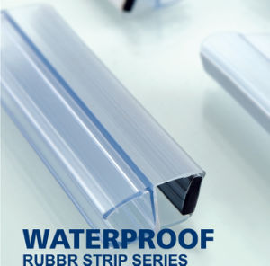 Dusche-Tür-wasserdichte Plastikglastür-magnetischer Streifen