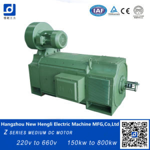 630V 650rpm cepillado eléctrico motor DC IP23