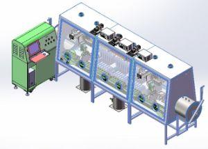 Alimentation des batteries au lithium-polymère d'automatisation Zecheng automatique de ligne à injection de liquide