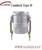 La D scriv ad acciaio inossidabile l'accoppiamento a macchina del Camlock del rilascio rapido