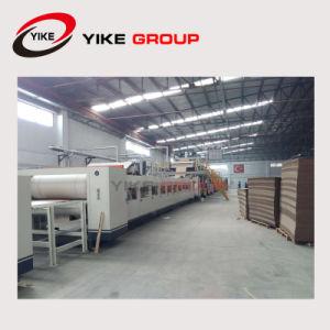 Grupo Yike 3.5.7 telas de cartón corrugado Línea de producción para hacer caja de cartón