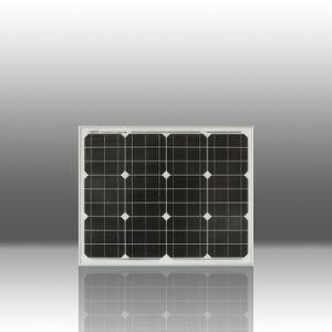 Cellules solaires monocristallines 50W / Panneaux solaires (Z002-QJM50-36)
