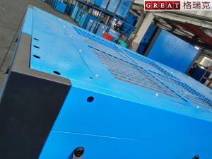 Compressore d'aria rotativo della vite per la misurazione del rumore libero