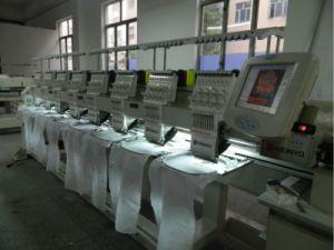 8ヘッド帽子のTシャツの平らな刺繍のための帽子によってコンピュータ化される刺繍機械