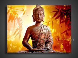 A arte de Buda pintados à mão pintura a óleo (BU-040)