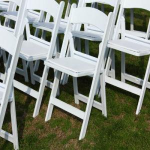 Events를 위한 백색 Padded Wimbledon Chair