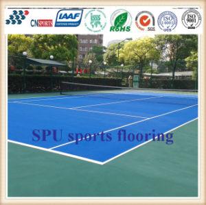 CnS01 Spuは連続したトラックまたはテニスコートまたはバスケットボールコートのための裁判所を遊ばす