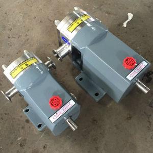 En acier inoxydable Tri-Lobe sanitaires sans moteur de pompe du rotor