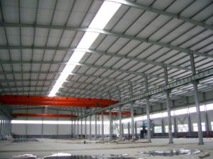 Gran Gran Span Prefabricados de estructura de acero de la luz de la Construcción (KXD-SSW97)