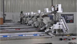 Enchimento de embalagem de almofadas de estanqueidade de almofadas para máquina de embalagem da revista