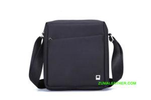 격실을%s 가진 고전적인 디자인에 있는 iPad 메신저 어깨에 매는 가방