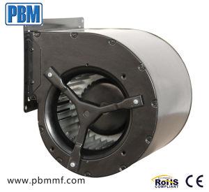 Gaiola de esquilo 48VDC na entrada do ventilador do soprador centrífugo de dupla com 146 mm o impulsor