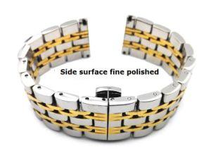 Nieuw Roestvrij staal 7 Riem 14 van de Band van het Horloge van Parels High-End van de band van het Horloge van 16 18 20 22mm de Klassieke Manchet van Men&Women