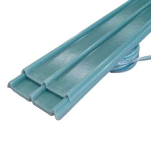 Fibra de vidrio, plástico reforzado con fibra de poliuretano de Glassfiber GRP Hoja techado