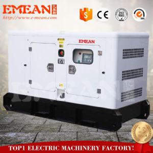 30квт двигатель Cummins 4bt3.9-G2 электрического питания дизельного генератора с навесом