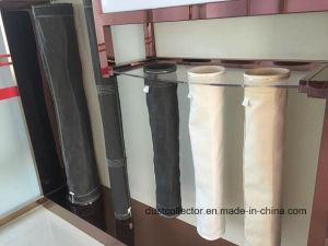 非編まれたボイラーセメントのプラント850GSMガラス繊維の布のフィルター・バッグ