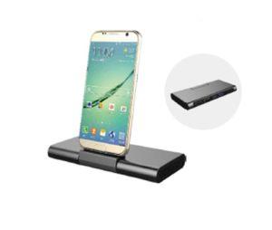 USB3.0 Typ c-Weibchen VGA-3.5mm, zum C des männlichen Metalladapters für androides Palladium (9.5203) zu schreiben
