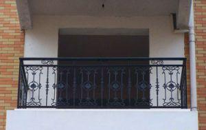 販売のベランダのためのバルコニーのグリルデザイン錬鉄の柵