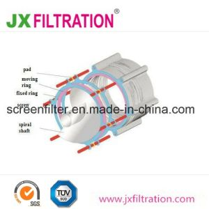 Multidiskklärschlamm-entwässernmaschine der schrauben-Pjdl351 für Abwasser-Behandlung