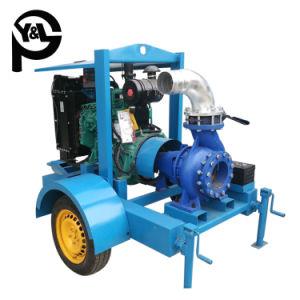 Moteur diesel horizontale/Agriculture de l'irrigation agricole centrifuge Pompe à eau