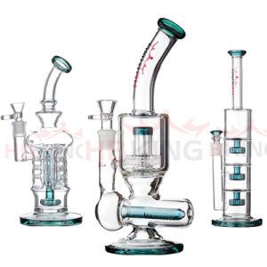 Hbking Großhandelsbaum Perc Glaswasser-Rohr, grosse rauchende Wasser-Rohre, Silikon-Wasser-Rohre