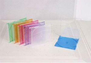 カラー皿と細いCD宝石箱のCDケースのCD宝石カバー5.2mm