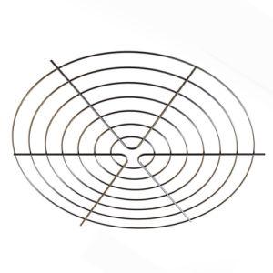Chrom-Überzug-geschweißter Draht-axialer Ventilator-Deckel