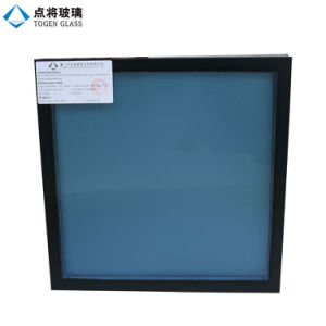 Baixo vidro de indicador isolado E com gás de ar do argônio