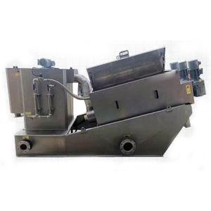 O parafuso de pressão do filtro de tipo Empilhado Automática Máquina de desidratação de lamas
