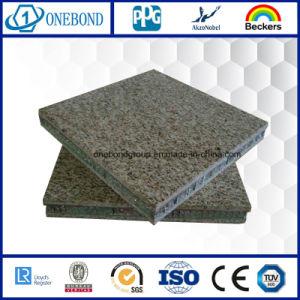 Pierre panneau sandwich en aluminium pour matériaux de construction