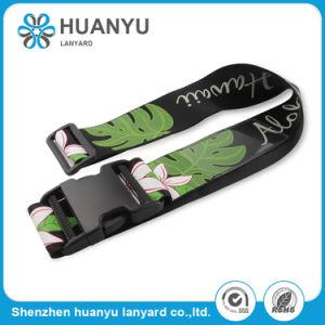 Comercio al por mayor impresión personalizada Silk-Screen equipaje correa correa de nylon