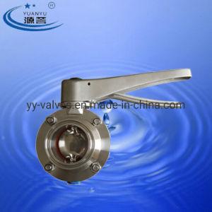 Válvula Borboleta triclamp de Aço Inoxidável Sanitário
