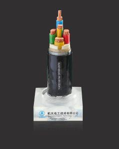 1-35KV XLPE Steel-Tape aislado de núcleo de cobre recubierto de PVC vehículos blindados y cable de alimentación