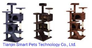 Оптовая торговля Pet Cat игрушки замок Cat дерево домашних аксессуаров