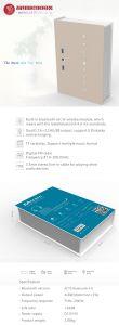 2017年のMusicbookスマートなBluetoothの無線拡声器ボックス